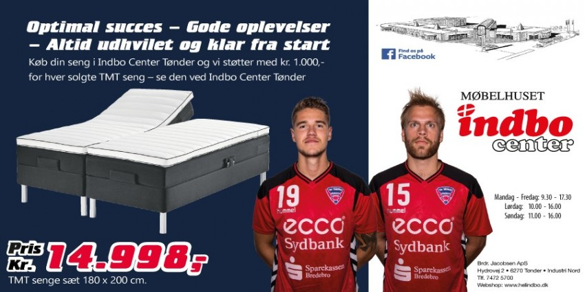 TMT seng Møbelhus reklame