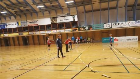 Claus Hansen trænede de unge