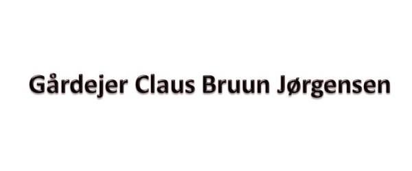 Gårdejer Claus Bruun Jørgensen