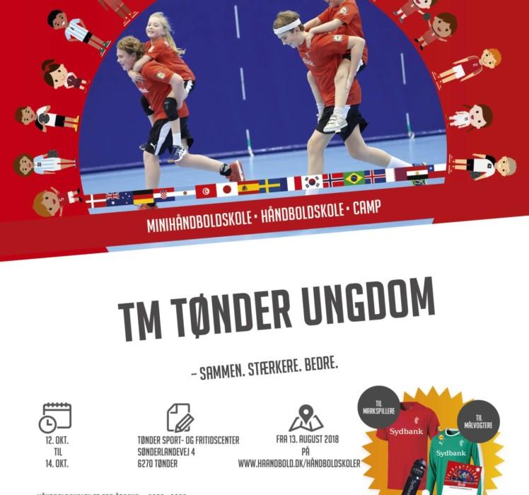 TM Tønder Ungdom afholder håndboldskole