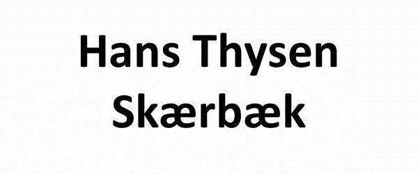 Hans Thysen, Skærbæk