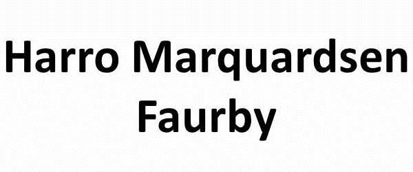 Harro Marquardsen, Faurby
