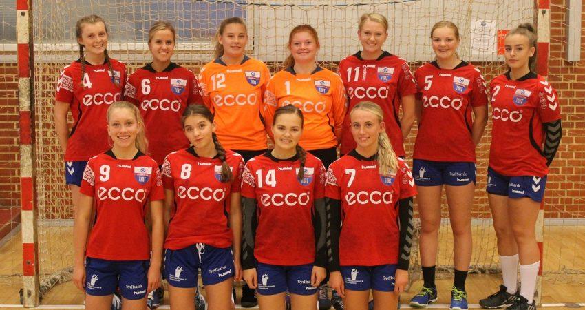 TM Tønder U16 Piger – starter i A-række