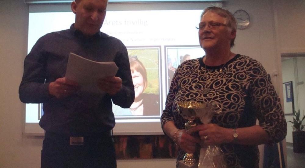 TMT Award: Årets Frivillig.