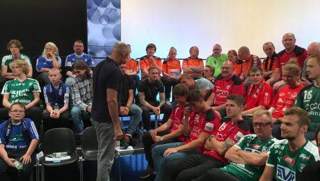 TM Tønder delegation på TV2
