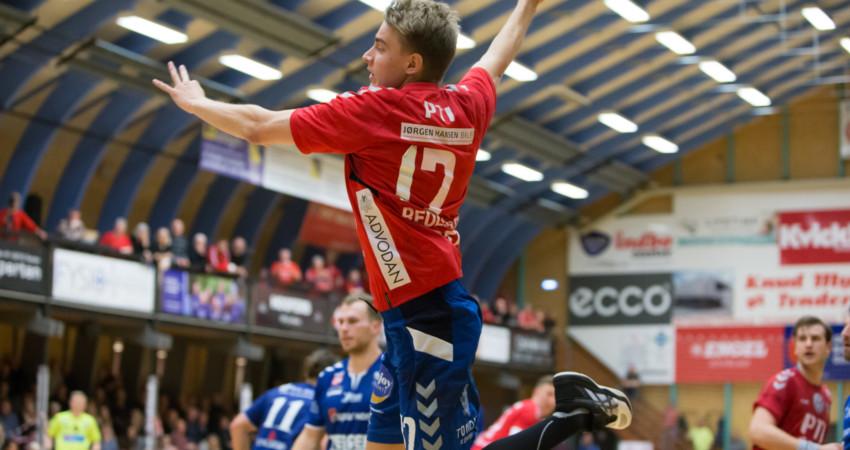 Flot debut til Kasper Fey Pedersen
