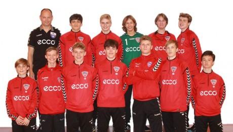 U-16 drenge vandt i Balle