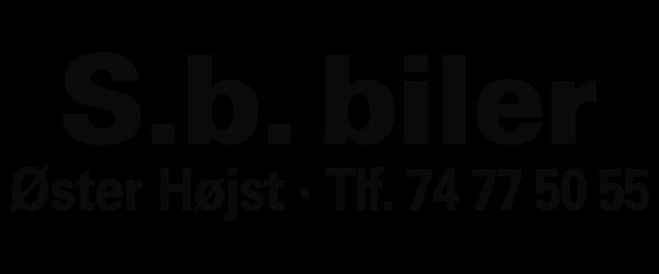 Sponsor SB biler logo