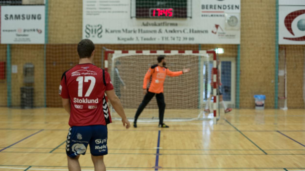 Kristian Stoklund håndboldtræning TM Tønder